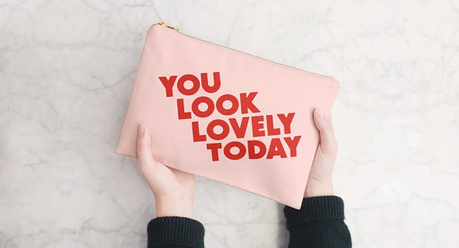 Blush Pink Pouches