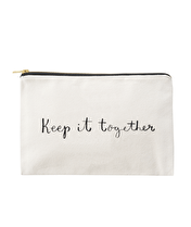 Keep it Together - Large Canvas Pouch
