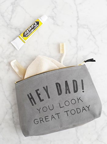 Photo of Hey Dad! You Look Great today - Wash Bag