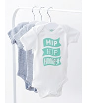 Hip Hip Hooray - Baby Bodysuit