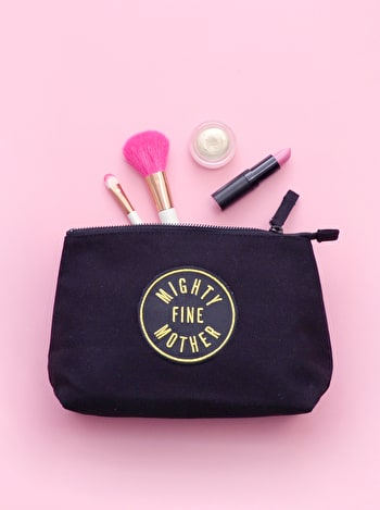 Mighty Fine Mother Makeup Bag | Cosmetics Bags | Alphabet Bags