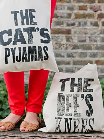 Photo of The Bee's Knees - Cotton Tote Bag