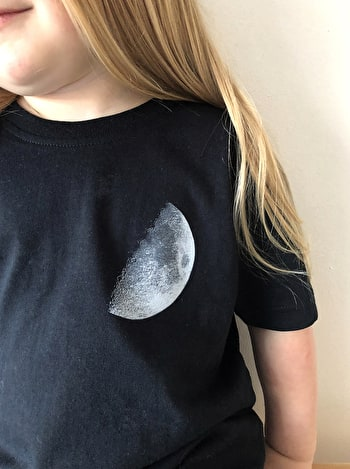 Moon T-shirt Set - Dad & Baby/Toddler