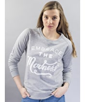 Embrace the Madness - Grey Sweatshirt