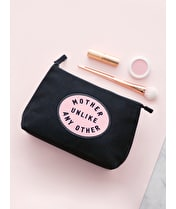 Mother Unlike Any Other Black - Makeup Bag