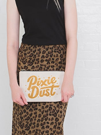 Pixie Dust - Large Canvas Pouch