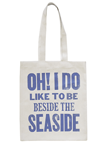 Seaside Natural - Cotton Tote Bag