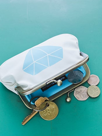 Gem Coin Purse | Coin Purse | Alphabet Bags