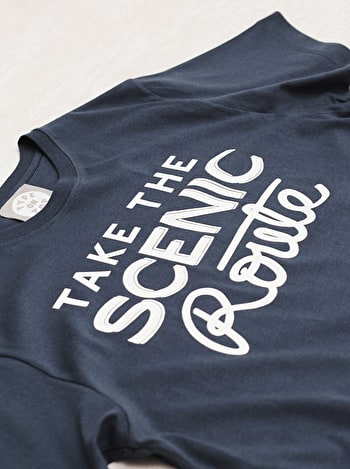 Photo of Take the Scenic Route - Mens T-Shirt