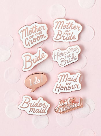 Mother of the Groom - Enamel Pin