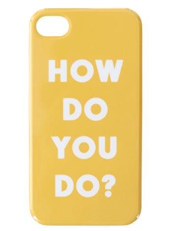 How Do You Do? - iPhone 4/4S Case
