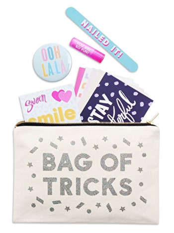 Bag Of Tricks Goody Pouch | Makeup Set & Bag | Alphabet Bags