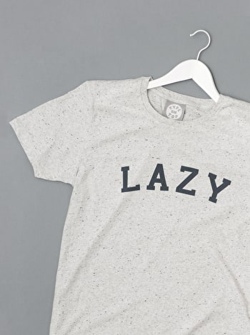Lazy Men's T Shirt | Men's Slogan T-Shirts | Alphabet Bags