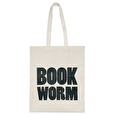 Book Worm - Cotton Tote Bag