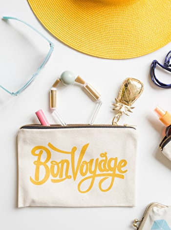 Bon Voyage | Travel Wallet | Alphabet Bags