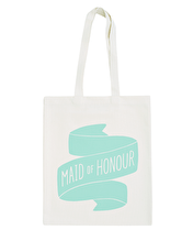 Maid of Honour Mint - Wedding Tote Bag