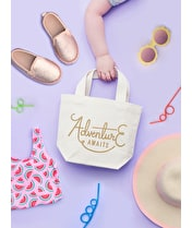 Adventure Awaits - Little Canvas Bag