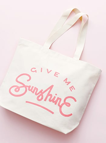 Photo of Give Me Sunshine - Big Canvas Tote Bag