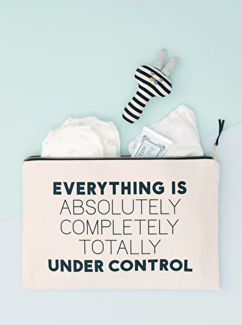 Under Control XL Pouch | Travel Pouch | Alphabet Bags