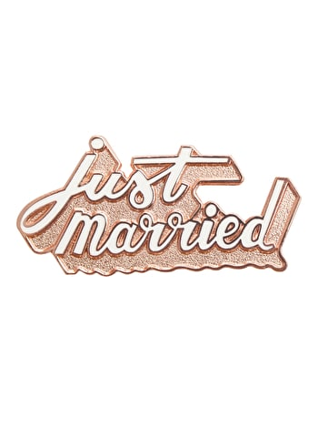 Just Married - Enamel Pin