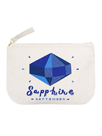 Photo of Sapphire / September - Birthstone Pouch