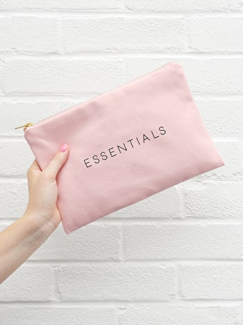 Photo of Essentials - Blush Pink Pouch