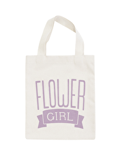 Flower Girl Lavender - Mini Wedding Bag