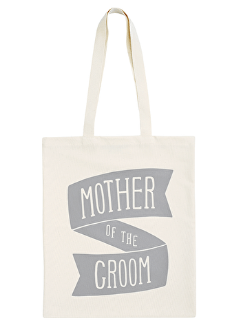 Mother of the Groom Grey - Wedding Tote Bag