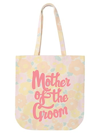 Mother of the Groom - Floral Canvas Bag