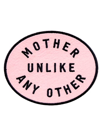 Mother Unlike Any Other Embroidered Patch | Gifts For Mum | Alphabet Bags
