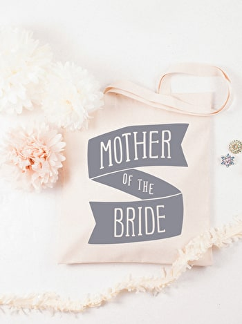 Photo of Mother of the Bride Grey - Wedding Tote Bag