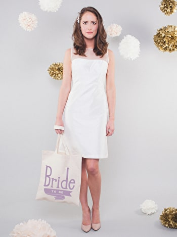 Photo of Bride To Be Lavender - Wedding Tote Bag