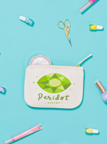 Photo of Peridot / August - Birthstone Pouch