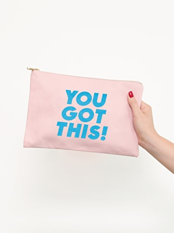 You Got This - Blush Pink Pouch