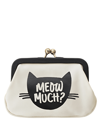 Meow Cat Purse | Gifts For Cat Lovers | Alphabet Bags