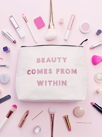 Photo of Beauty Comes From Within - Wash Bag