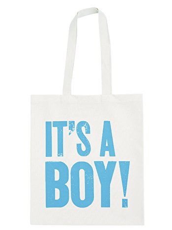 It's a Boy! - Cotton Tote Bag