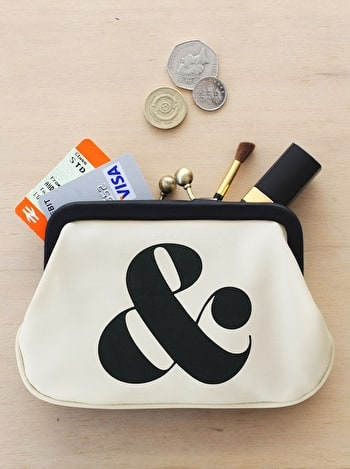 Ampersand Coin Purse | Coin Purse | Alphabet Bags