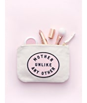 Mother Unlike Any Other - Little Canvas Pouch
