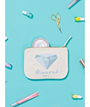 Diamond / April - Birthstone Pouch