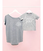 You Go Mama/You Go Girl T-shirt Set