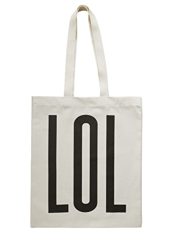 Photo of LOL - Cotton Tote Bag