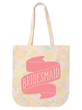 Bridesmaid - Floral Banner - Second
