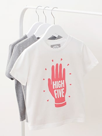 Photo of High Five Raspberry - Kid's T-Shirts