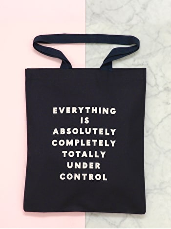 Photo of Under Control - Cotton Tote Bag