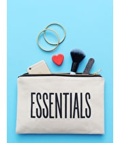 Essentials - Large Canvas Pouch