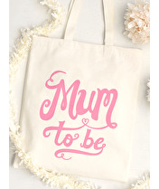 Mum To Be - Cotton Tote Bag
