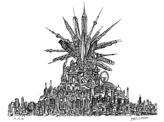 Stephen Wiltshire: Cities and Skylines