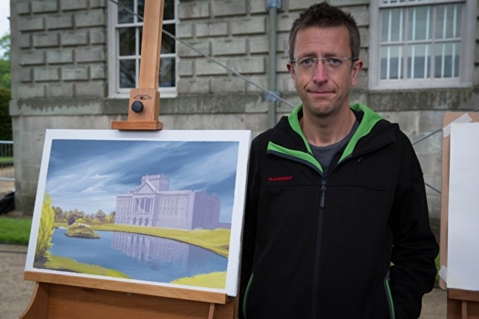 Sky Arts Landscape Artist of the Year: Jamie Hageman, First Heat Winner