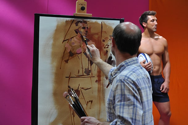 Sky Arts Portrait Artist Of The Year 2014 Call For